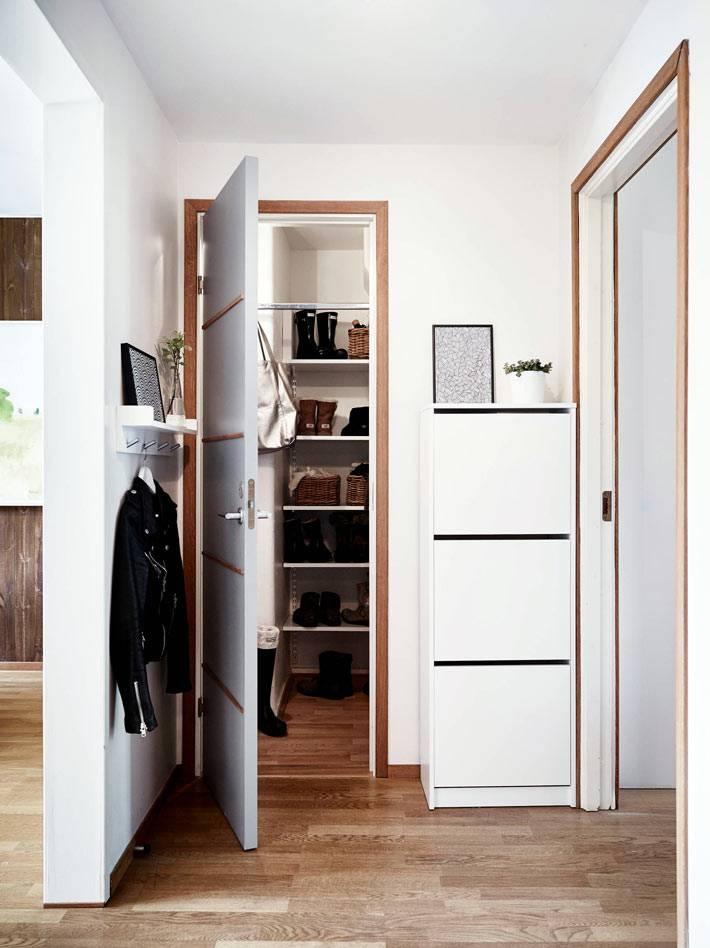 белый цвет в интерьере скандинавской квартиры