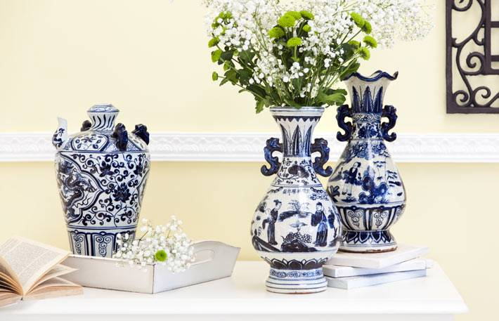 китайские фарфоровые вазы фото
