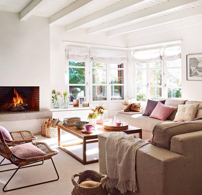 красивый интерьер испанской квартиры