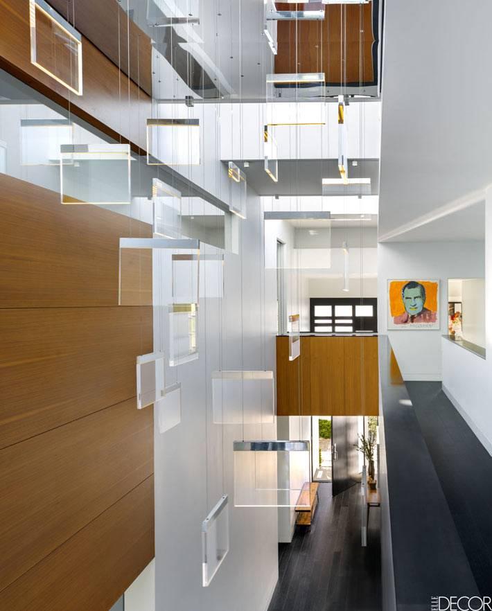 современный дизайн дома в Калифорнии