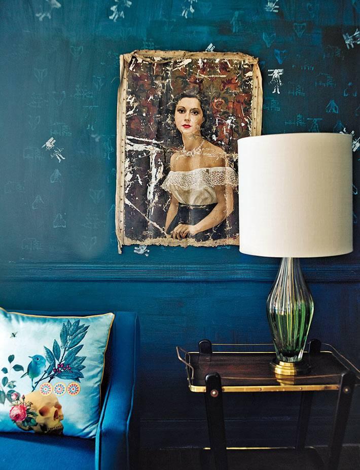красивый дизайн интерьера дома в Мехико