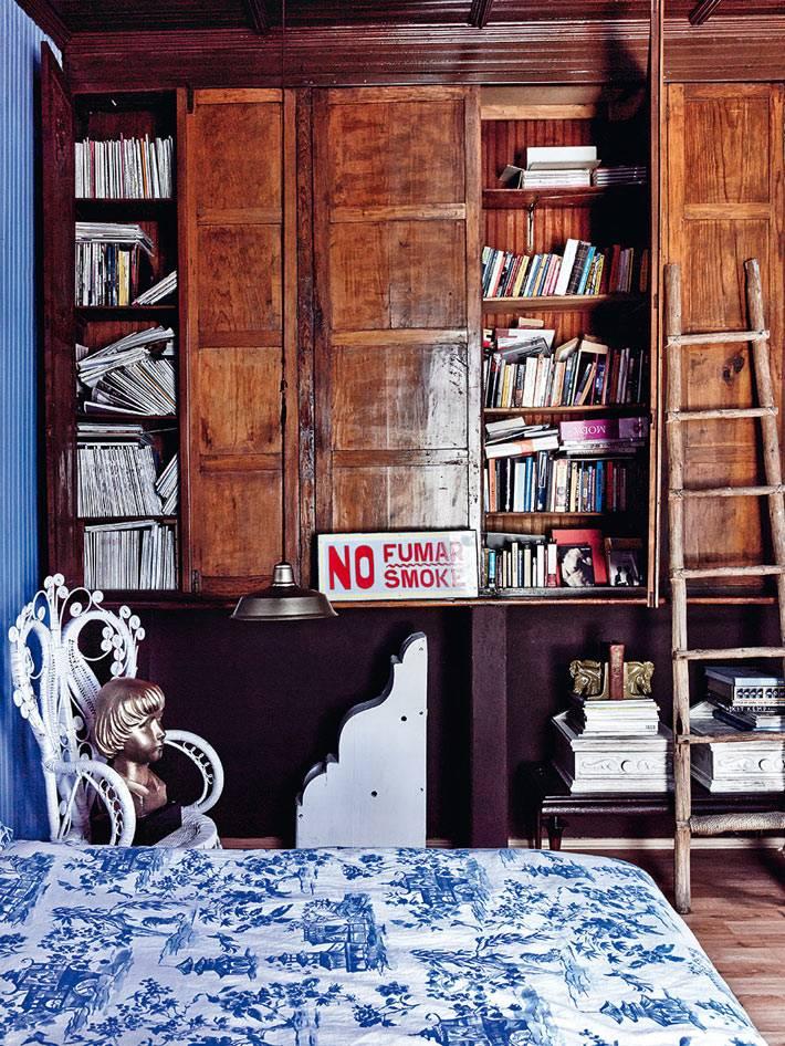 колоритный дизайн интерьера дома
