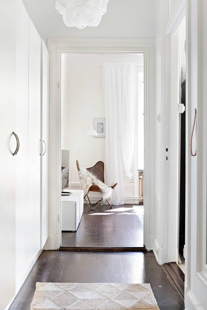 белый цвет в дизайне интерьера маленького помещения