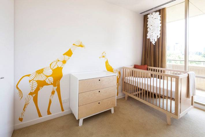 дизайн интерьера детских комнат фото