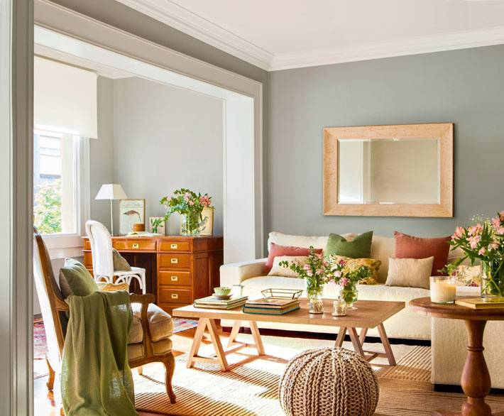 красивый дизайн интерьера квартиры в Испании