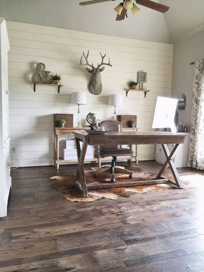 красивый интерьер домашнего кабинета фото