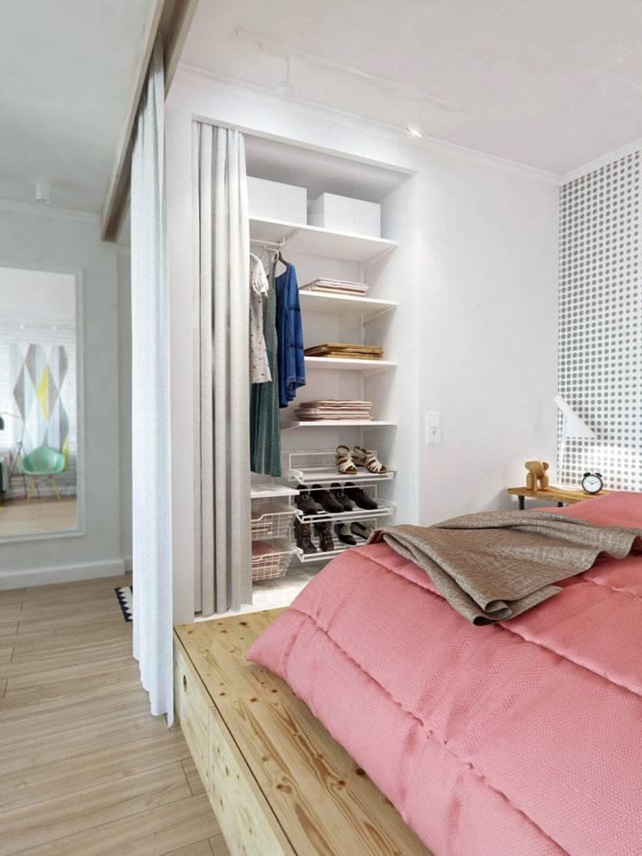 функциональный дизайн ниши в квартире
