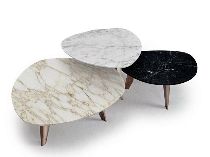кофейные столики из мрамора фото