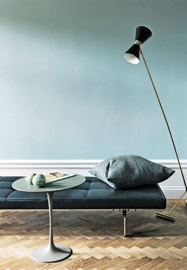 стильный дизайн интерьера квартиры в стокгольме