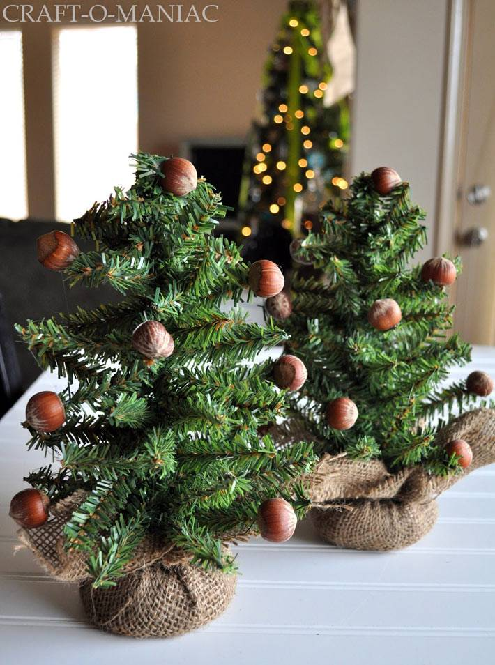новогодние мини-елки фото