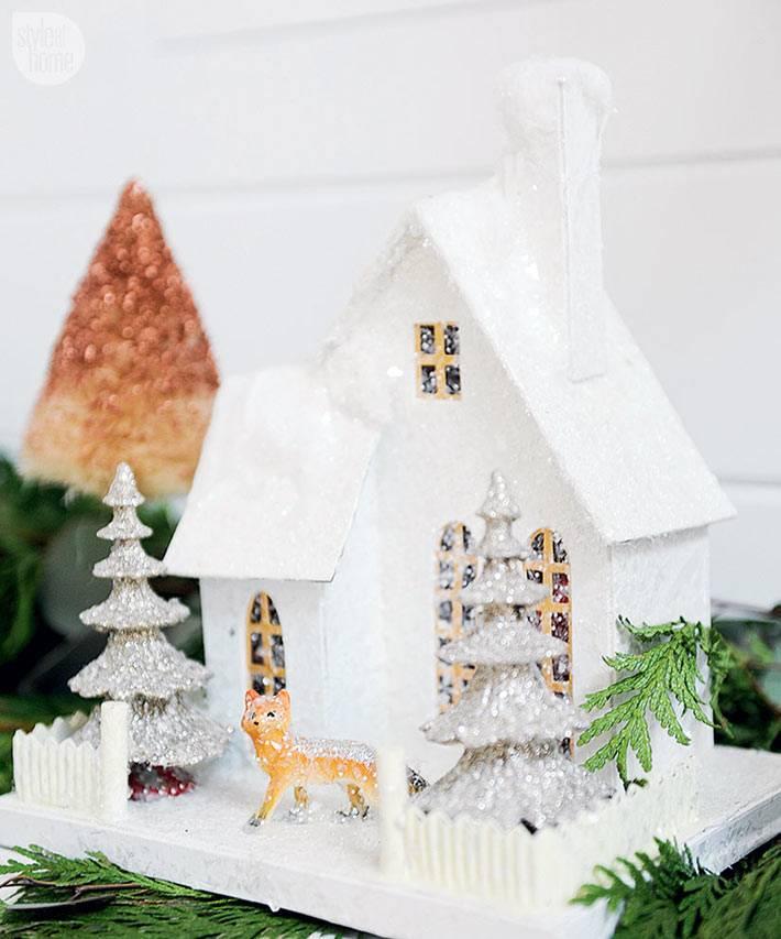 красивые декоративные новогодние игрушки