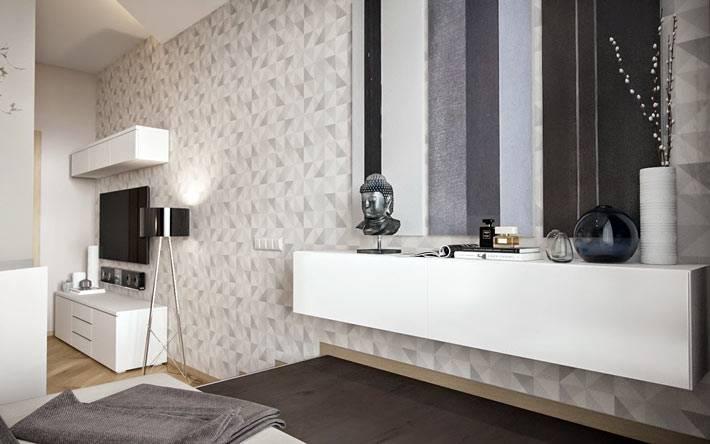 визуализация однокомнатной квартиры Игоря Глушана