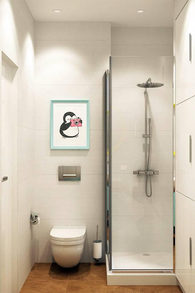 Картина в интерьере ванной комнаты фото