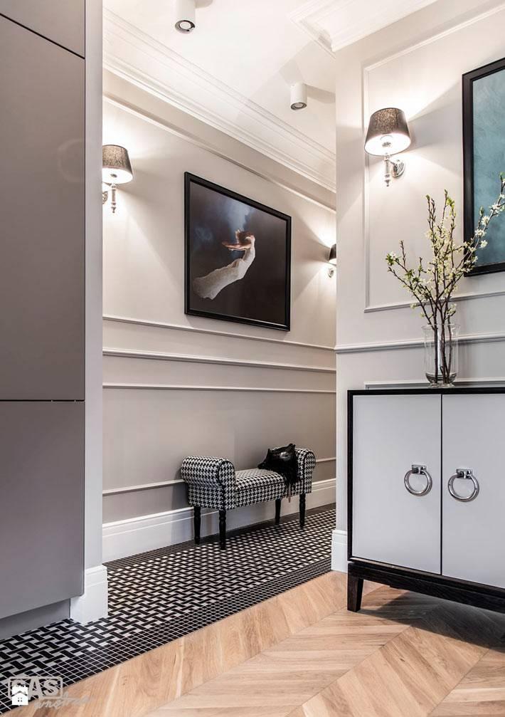 Красивый дизайн коридора в квартире фото