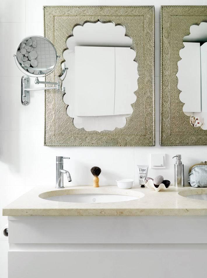 Рамы для зеркал ванной комнаты в марокканском стиле фото