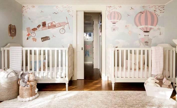 художественная роспись детской комнаты фото