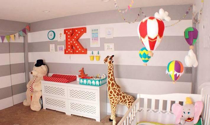 Декор для детской комнаты сделать своими руками