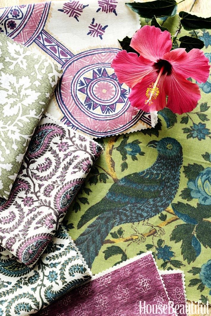 красивые ткани с узорами для украшения квартиры фото
