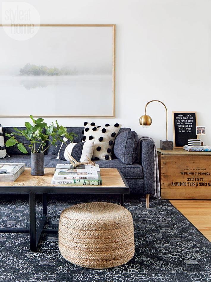 как стильно офорить гостиную комнату фото