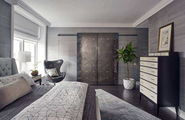 все оттенки серого цвета в дизайне спальни