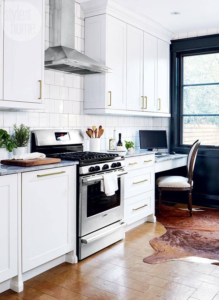 кухонные шкафчики до потолка на кухне фото