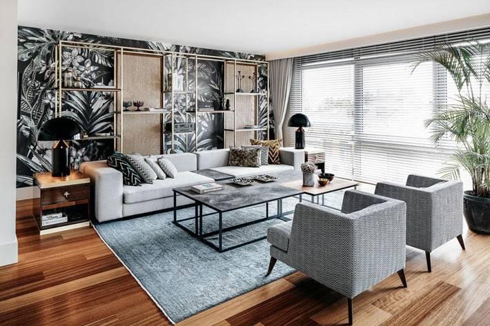 стильный дизайн современной квартиры в Турции