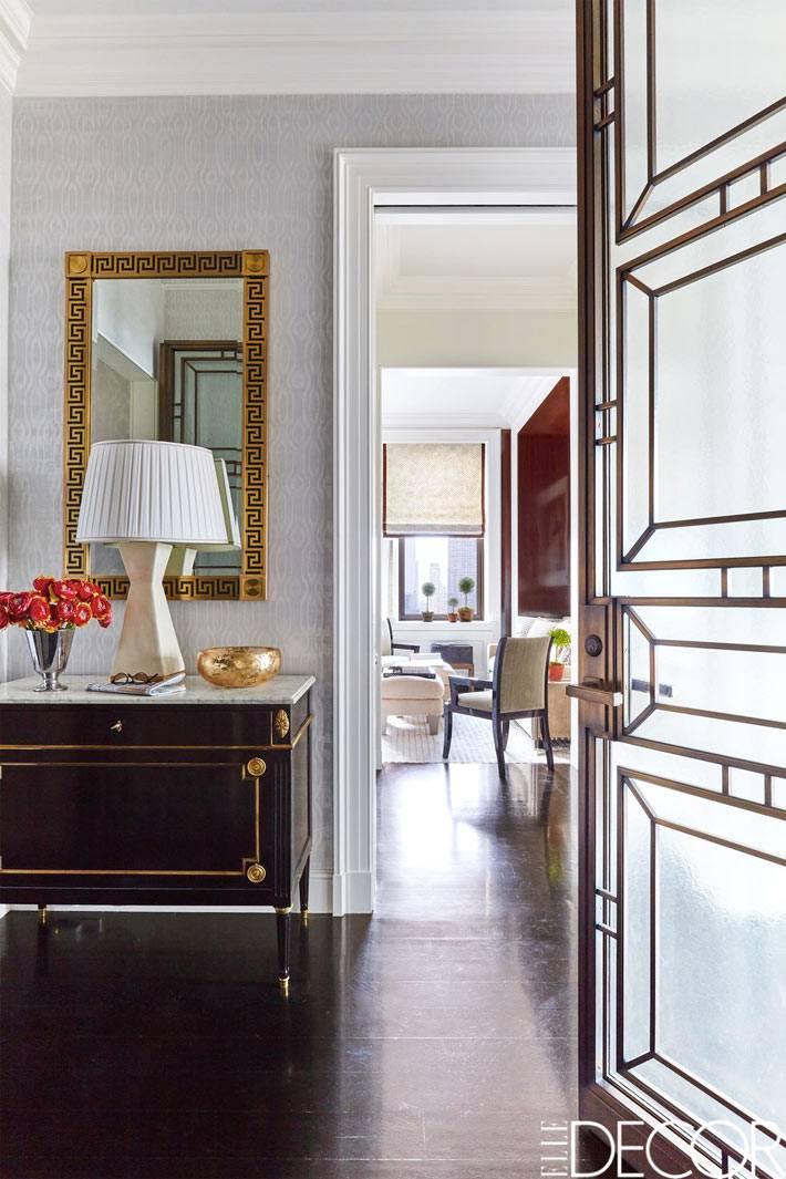стеклянные матовые межкомнатные двери в квартире
