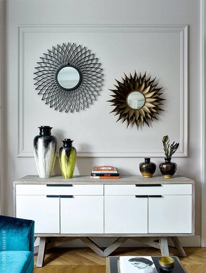 Тропические мотивы в дизайне квартиры от Виктории Власовой