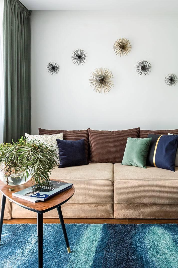 минимализм в маленькой однокомнатной квартире