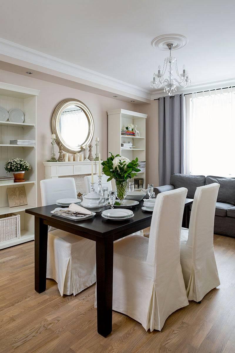 дизайн квартиры встиле прованс со светлыми стенами