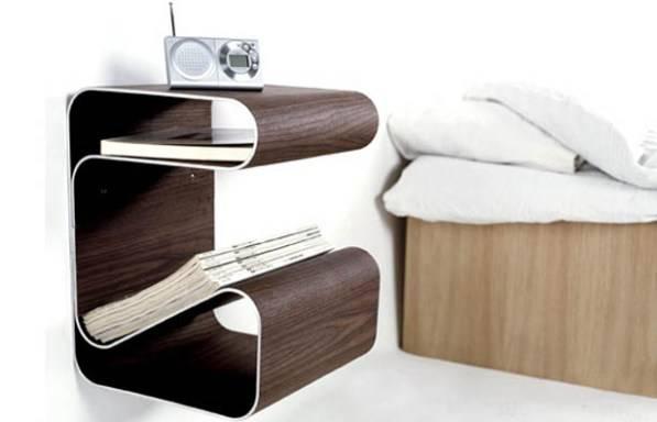 прикроватная тумба, спальний гарнитур, мебель в спальне, креативная мебель, необычные оригинальные тумбочки, прикроватный столик