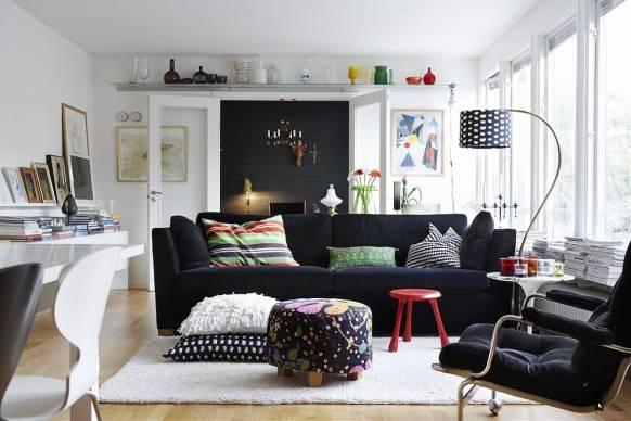 скандинавский стиль в интерьере, дизайн интерьера, дом в скандинавском стиле, фото, интерьер в белом цвете, белый цвет в интерьере