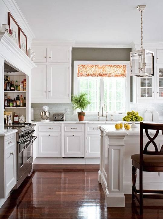 белая кухня, кухня в белом цвете, красивая кухня фото, кухня фото, классическая кухня