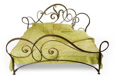 кованная кровать, фото, художественная ковка кровати, кованная мебель, мебель для спальни, красивая кровать, фото,