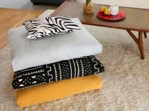 напольные подушки в интерьере, декор интерьера, красивые интерьеры, фото, подушки,
