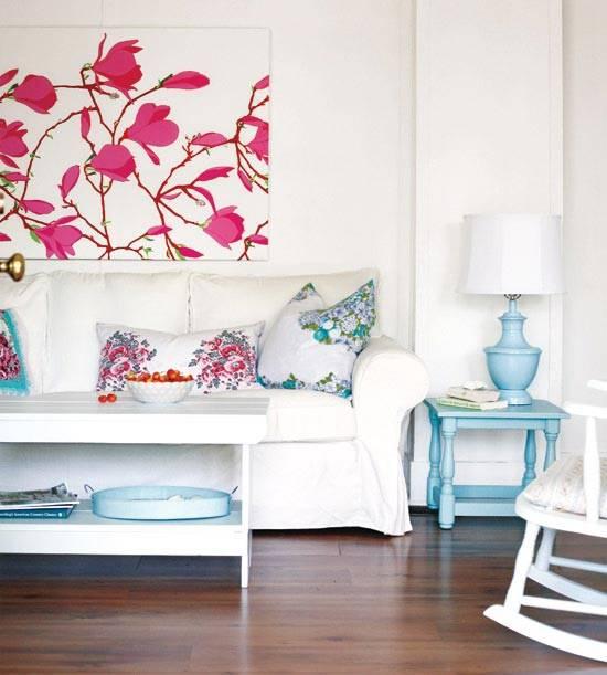 коттедж в стиле винтаж, винтажный дизайн, дизайн коттеджа, красивые интерьеры, красивый коттедж, белый цвет в интерьере, фотографии красивых интерьеров