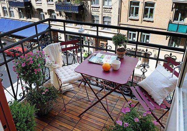 красивый балкон, фото, дизайн балкона, красивые интерьеры, фотографии красивых интерьеров, декор балкона, летний балкон
