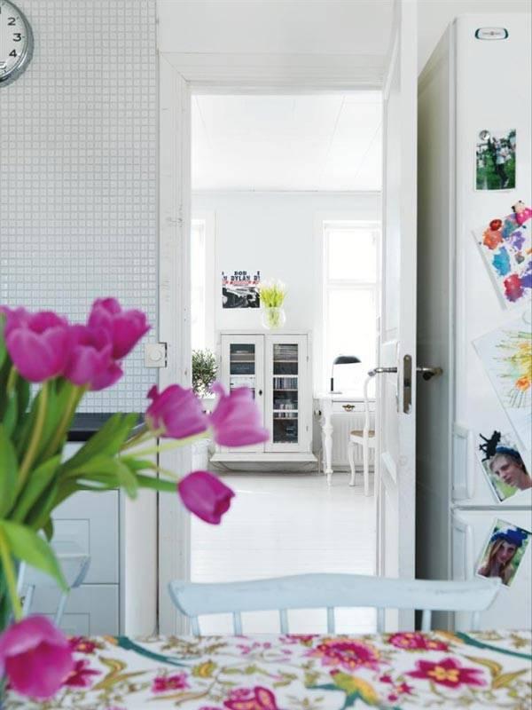 весенний дизайн интерьера, весенний интерьер, красивый интерьер, красивые интерьеры, пастельные цвета в интерьере, цвет фуксии в интерьере, фотографии красивых интерьеров