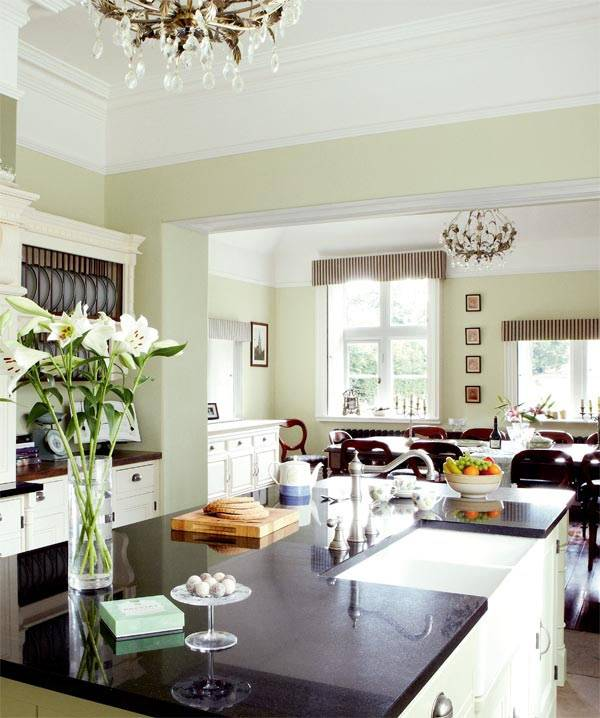 идеальная кухня, дизайн кухни, красивая кухня, белая кухня, фотографии красивых интерьеров
