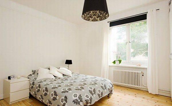 шведский интерьер, скандинавские интерьеры, интерьер спальни, красивая спальня, фото, красивые интерьеры