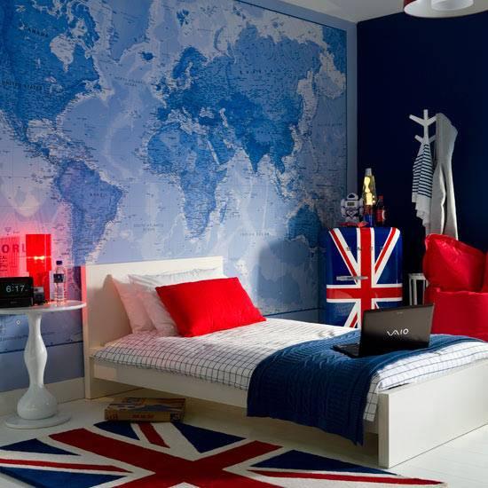 декор интерьера, географический декор, карты в интерьере, красивые интерьеры, фото красивых интерьеров