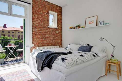 кирпичная стена, кирпич в интерьере, фото, кирпичная кладка, кирпичные стены, красивые интерьеры