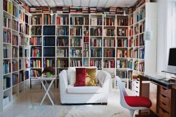 дизайн интерьера домашней библиотеки