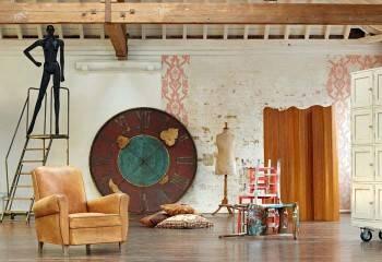 настенные часы - изюминка в дизайне интерьера