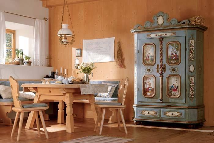 роспись на мебели фото