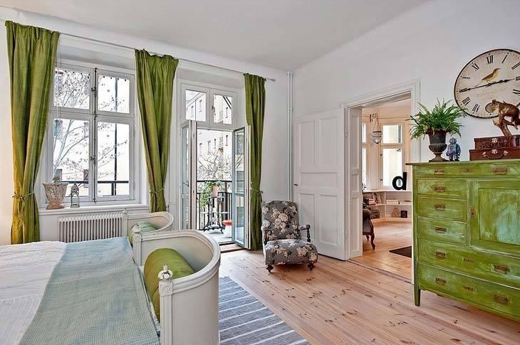 дизайн интерьера квартиры в Стокгольме