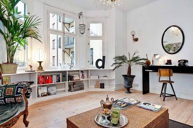интерьер квартиры в швеции