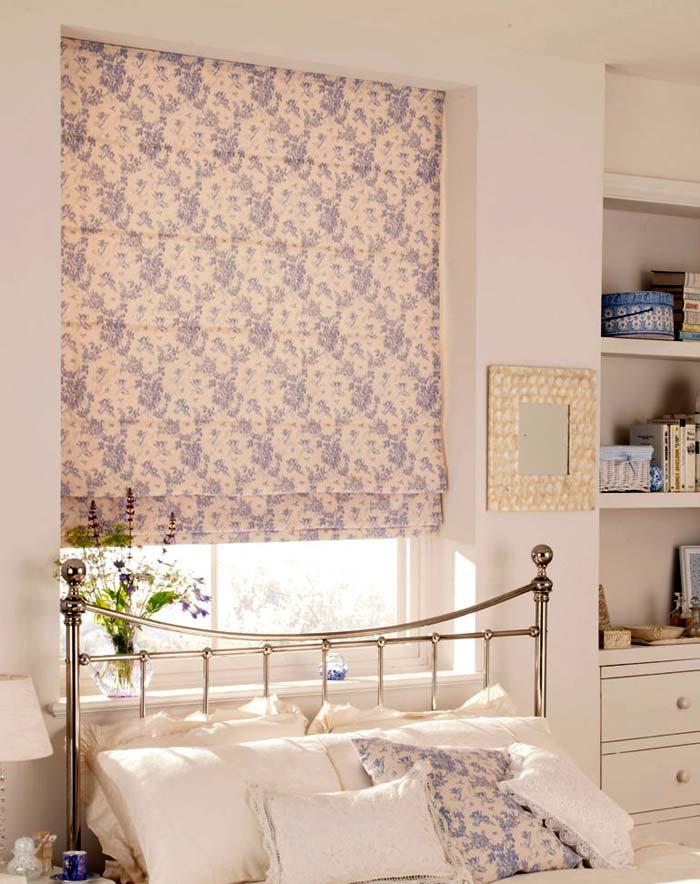 римские шторы в интерьере фото