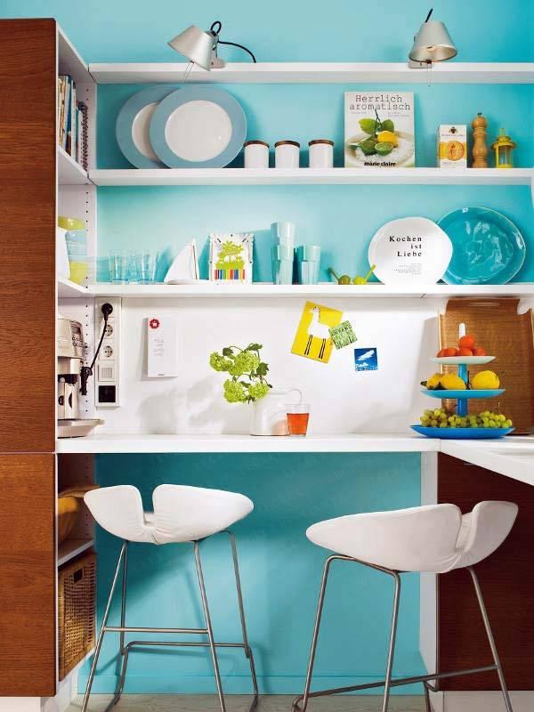 маленькая кухня, идеи организации
