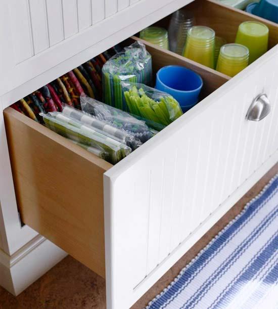 идеи хранения кухонных принадлежностей